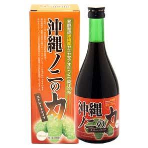 【 沖縄特産 健康食品 】沖縄ノ二の力 500ml × 3本
