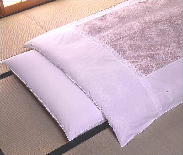 純国産白カバー 敷布団カバー シングル固綿用 105×215cm 綿100% 200本ブロード生地 ファスナー式 無地