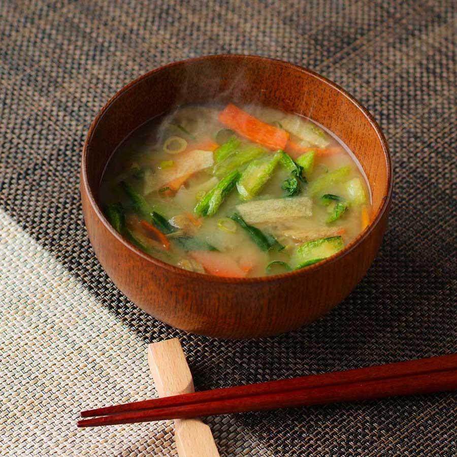 保存料、化学調味料 不使用 農家さんと作った国産野菜のお味噌汁 21個入り (送料無料)