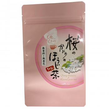 桜の甘い香りのほうじ茶です 桜のかおりのほうじ茶ティーバック 12セット 業務用 送料無料 日本未発売 徳用セット 直送 秀逸
