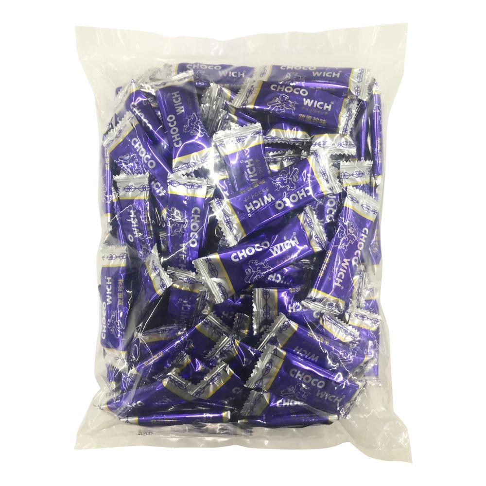 手焼きウエハースでサンドしたチョコ チョコウィッチ 500g×10袋 直送 早割クーポン お中元 B-14 送料無料
