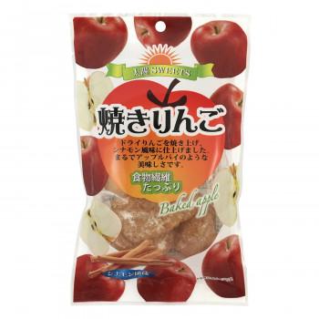 2020 新作 シナモン風味の焼きりんご タクマ食品 焼りんごシナモン味 人気海外一番 送料無料 直送 10×6個入