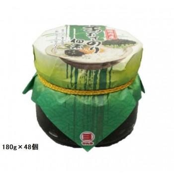 口あたりの良い甘口の佃煮 マルヨ食品 あおさのり佃煮 180g×48個 送料無料 直送 日本最大級の品揃え 03212 超歓迎された