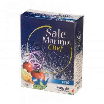 送料込 イタリアを代表するアティサーレの海塩 アティサーレ サーレ マリーノ 海塩 細粒 10箱セット 直送 6309 1000g 2020A W新作送料無料 送料無料