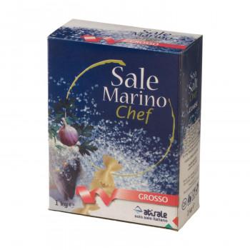 イタリアを代表するアティサーレの海塩 割り引き アティサーレ サーレ マリーノ 海塩 粗粒 10箱セット 1000g 6311 送料無料 直送 出色