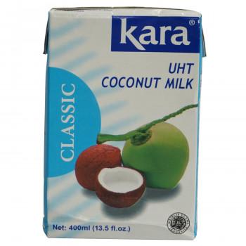 送料無料新品 UHT製法でココナッツの新鮮な風味をそのままパックしました 爆安 カラ クラシック ココナッツミルク UHT 24個セット 送料無料 475 400ml