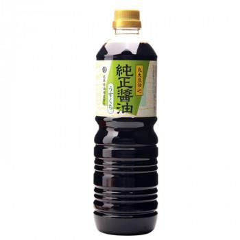 淡口醤油です 丸島醤油 ついに入荷 純正醤油 淡口 ペットボトル レビューを書けば送料当店負担 送料無料 1232 直送 1L×2本