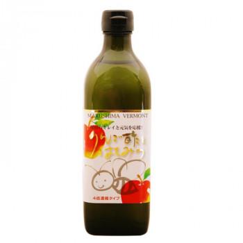 世界の人気ブランド 4倍濃縮タイプ マルシマ りんご酢とはちみつ 500mL×2本 直送 5551 送料無料 販売期間 限定のお得なタイムセール