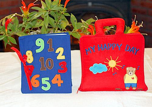 布絵本My Happy Day&Counting bookNEW ENGLISH VERSIONマイハッピーディ&カウンティングブック【知能開発レッスンブック】プレイ&ラーンギフトセット幼児教育英語教育選んで!!無料ギフトラッピング