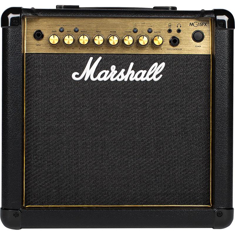 Marshall マーシャル MG15FX GOLD【送料無料】