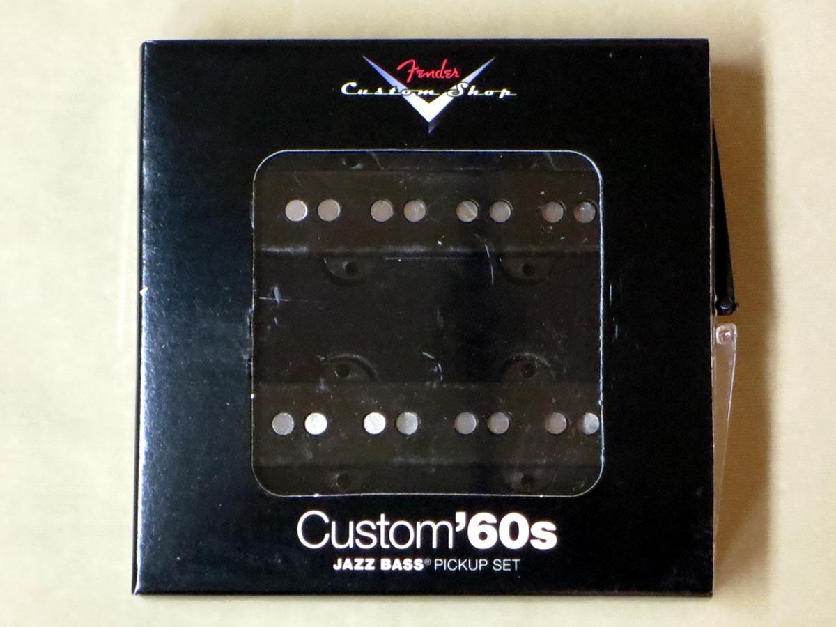Fender Custom Shop Custom 60's Jazz Bass Pickups【正規輸入品】【レターパック発送】