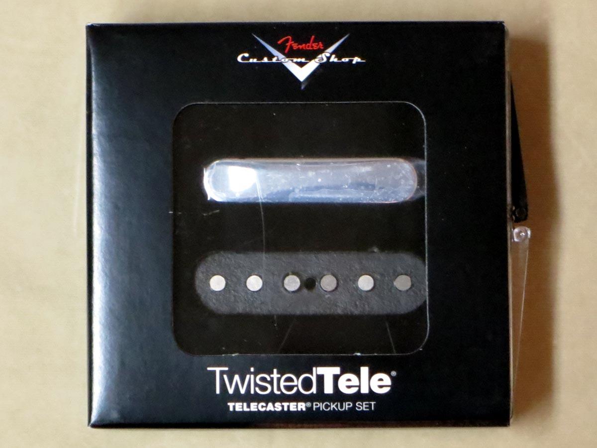 Fender Custom Shop Custom Twisted Tele Pickups【正規輸入品】【レターパック発送】