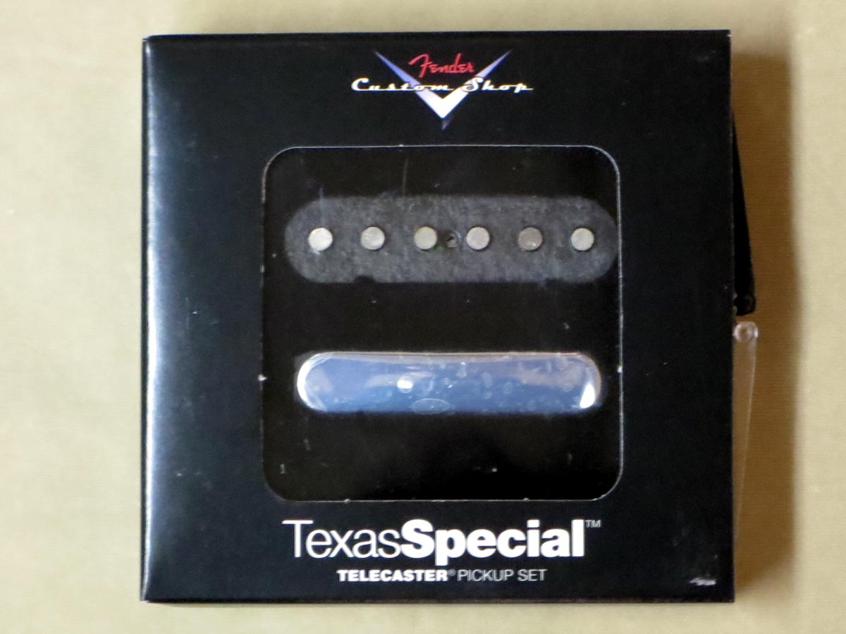 Fender Custom Shop Texas Special Tele® Pickups【正規輸入品】【レターパック発送】