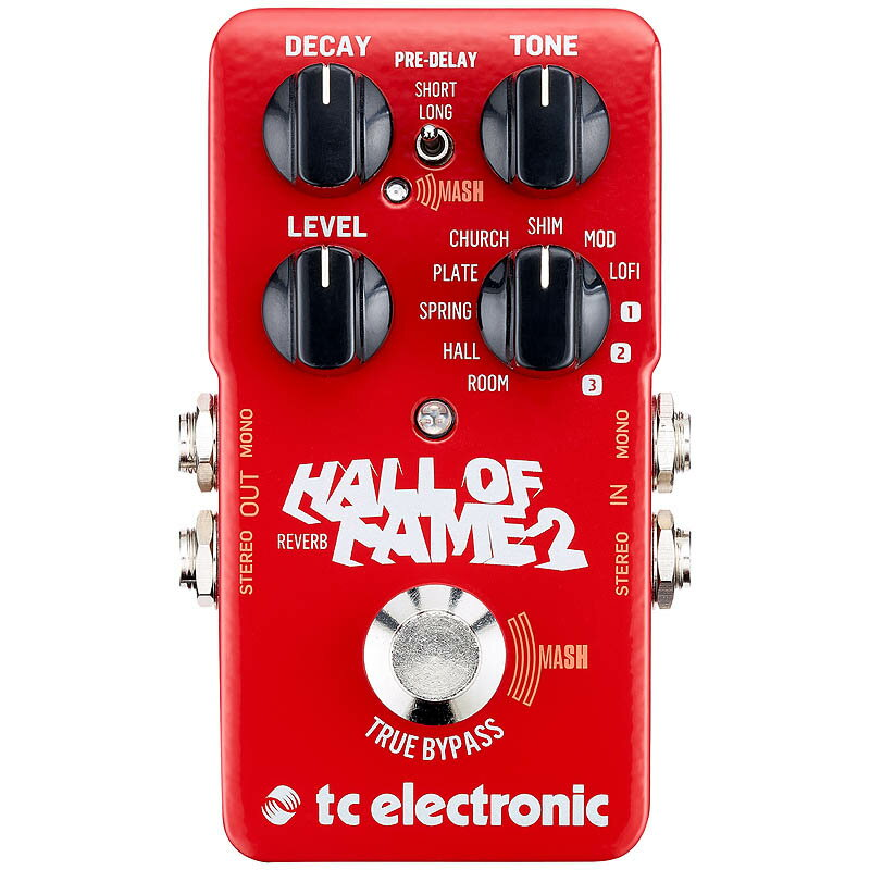 t.c. electronic HALL OF FAME 2 REVERB【送料無料】