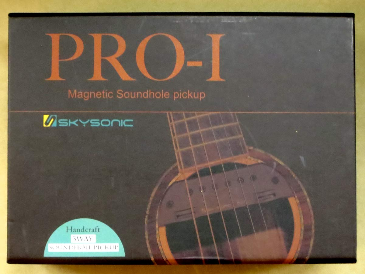 Skysonic PRO-1 アコースティックギター用ピックアップシステム【正規品3年保証】