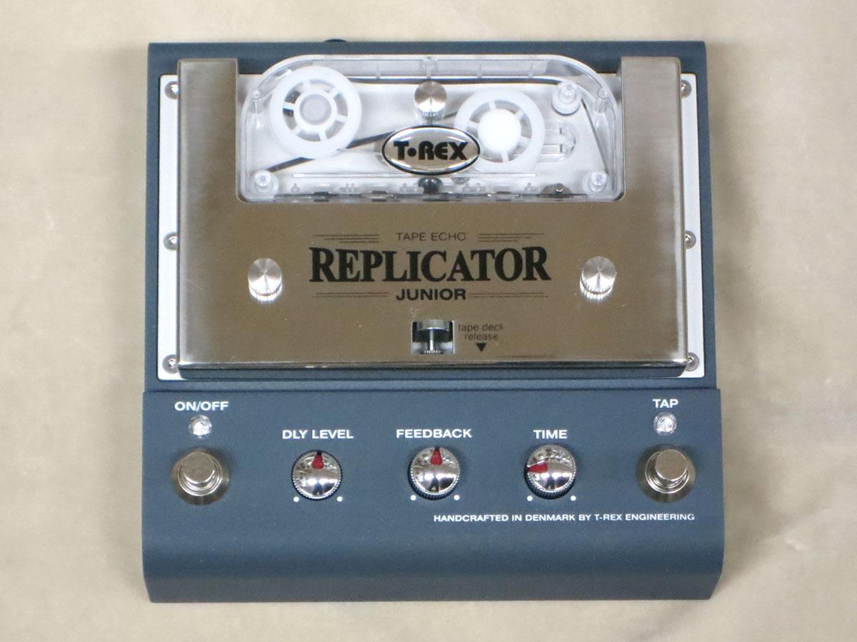 【New】T-Rex Replicator Junior Tape Echo【即納】絶品リアルテープエコーサウンド【店長お薦め】