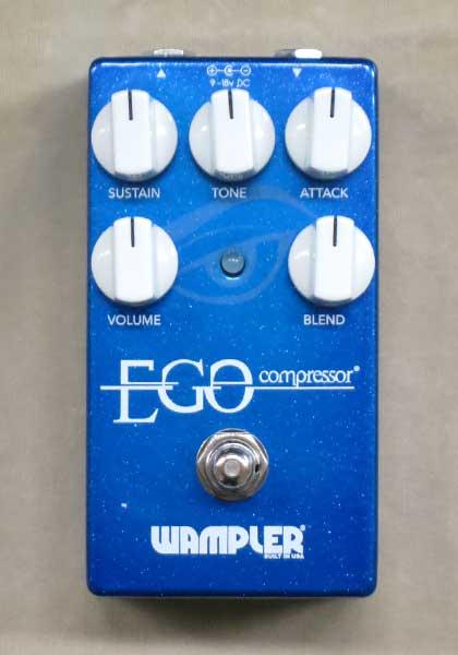 【New】Wampler EGO Compressor【店長お薦め】群を抜くサウンドクオリティ!画期的コンプレッサー!