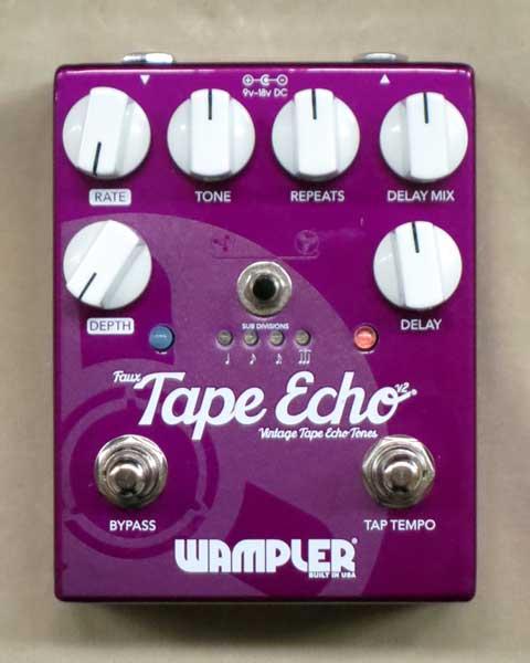 【New】Wampler Faux Tape Echo Ver.2【店長お薦め】絶品テープエコーサウンド!【レターパック発送】