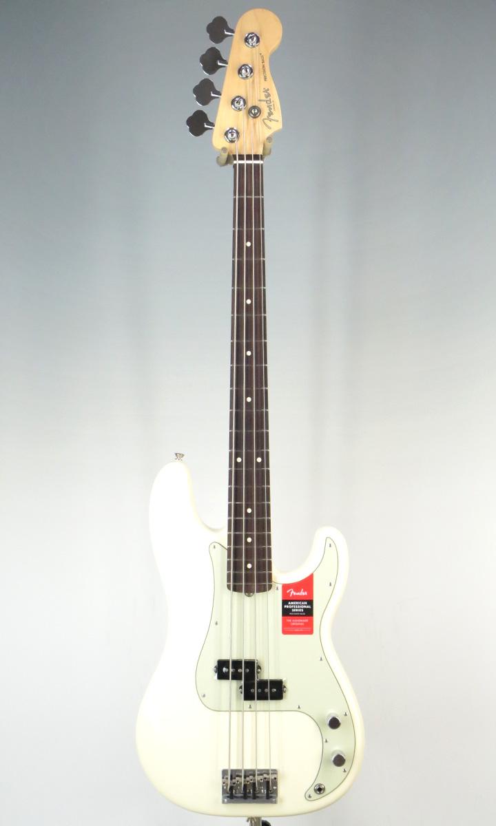 Fender USA American Professional Precision Bass RW OWH(selected by KOEIDO)店長厳選!別格の生きた最新プレベ!