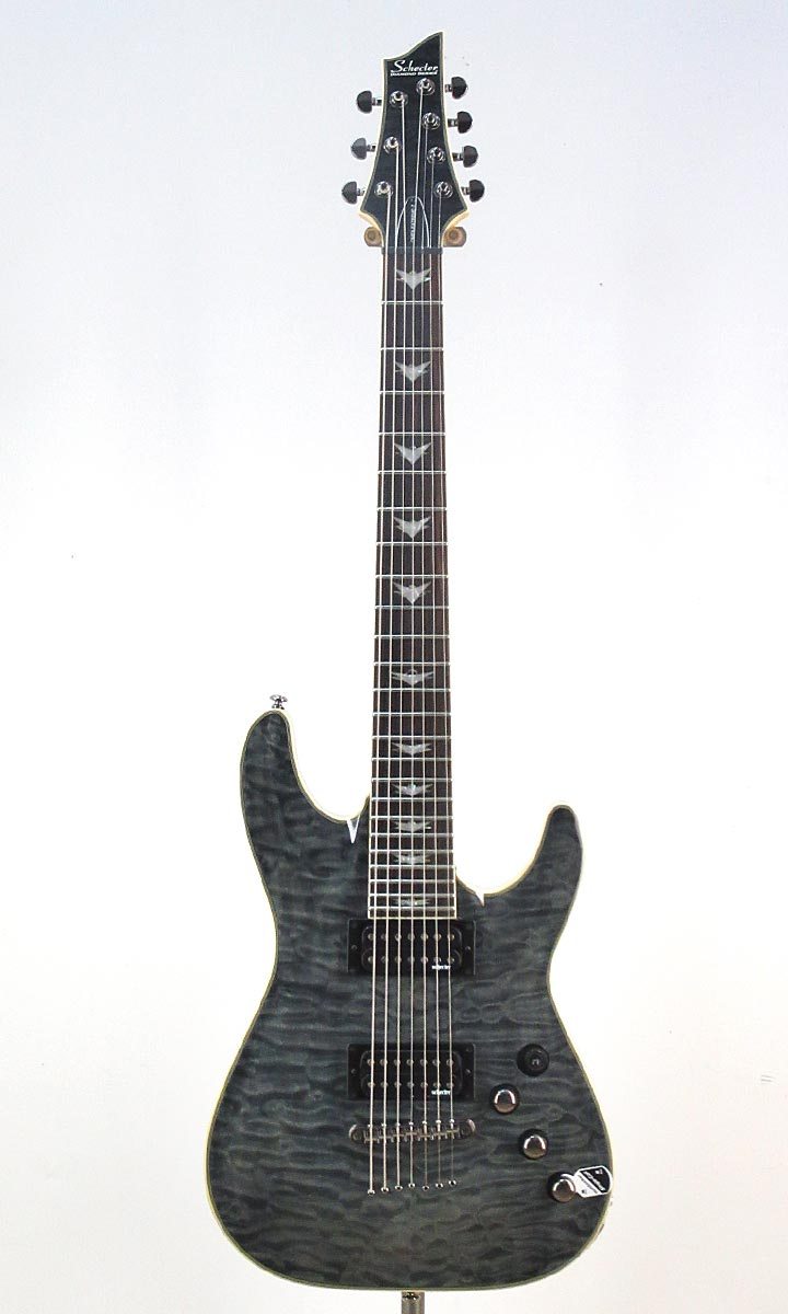 SCHECTER Omen Extreme-7 STBK[AD-OM-EXT-7]【シェクター小林信一ピック10枚付き】【送料無料】