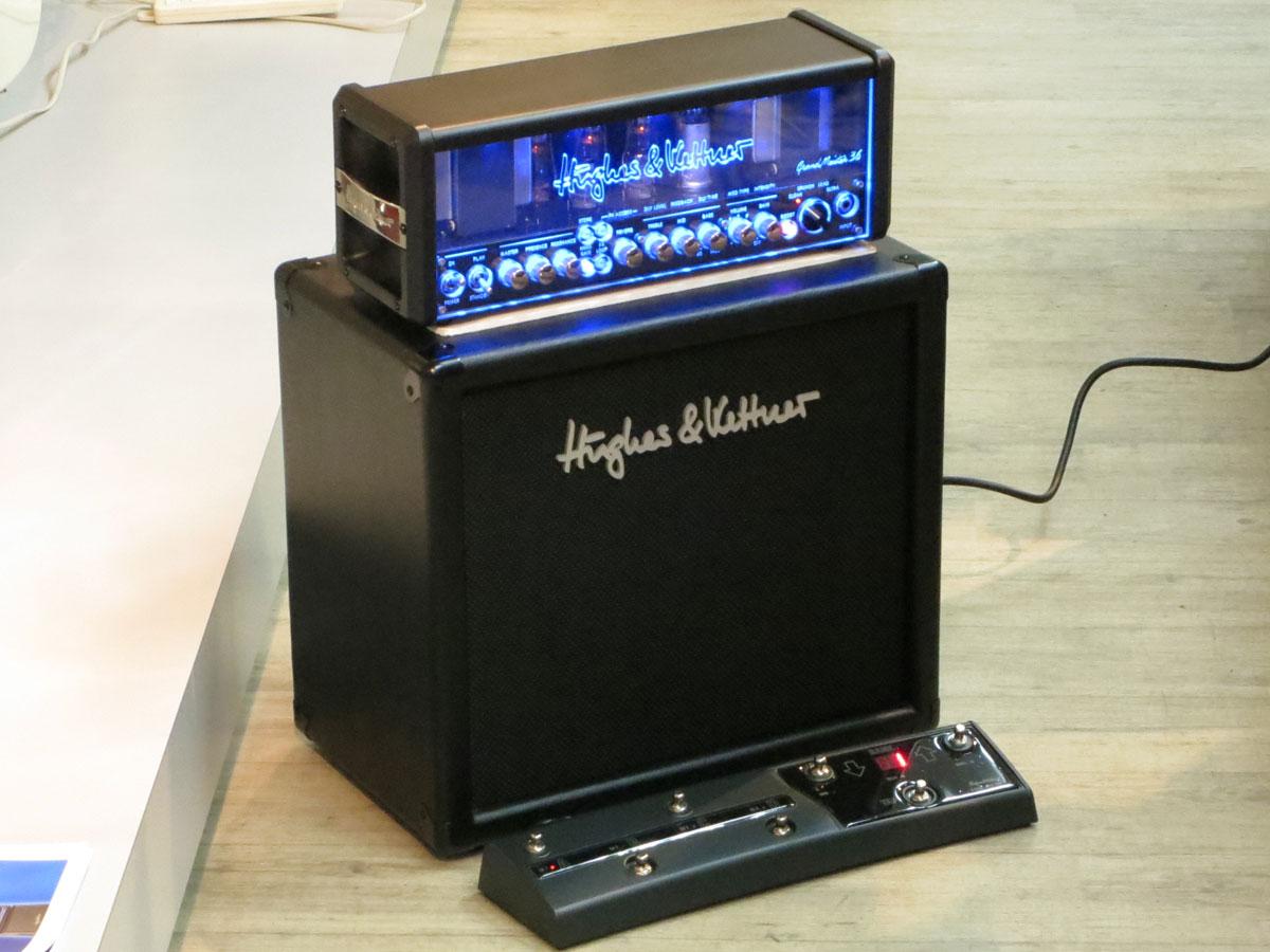 【限定35%OFF!】Hugheskettner Grand Meister DX40 Head+専用MIDIフットボード+112キャビネット完全セット!ヒュースケトナー グランドマイスター完全セット【店長お薦め!】台数限定!お買い得な完全セット!