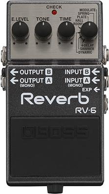 100 %品質保証 BOSS RV-6 Digital Digital Reverb【送料無料】 RV-6【smtb-tk】, 照明器具インテリア照明の正電社:44042300 --- canoncity.azurewebsites.net