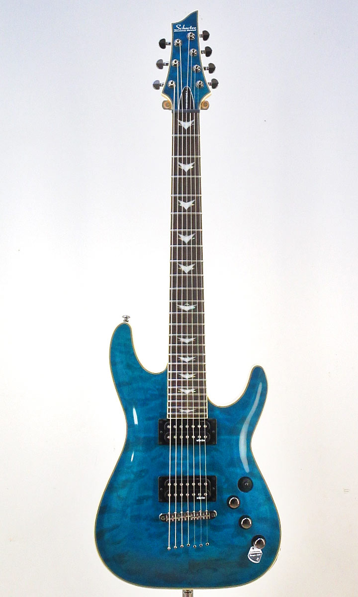 SCHECTER Omen Extreme-7 TOB[AD-OM-EXT-7]【シェクター小林信一ピック10枚付き】【送料無料】