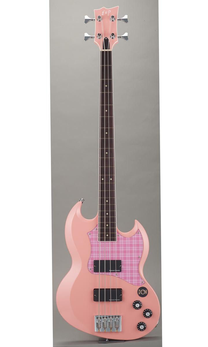 ESP×バンドリ! Collaboration Series Rimi Ushigome Signature Model ESP VIPER BASS Rimi (Rimi Pink)【受注生産モデル】