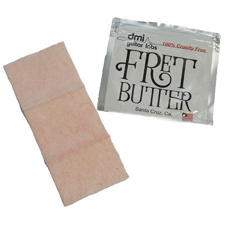 フレット磨き用のクリーナー液が染み込んだ布です dmi 公式ストア guitar labs Fret 送料無料 定価 Butter 定形外郵便発送 フレット磨き用クロス
