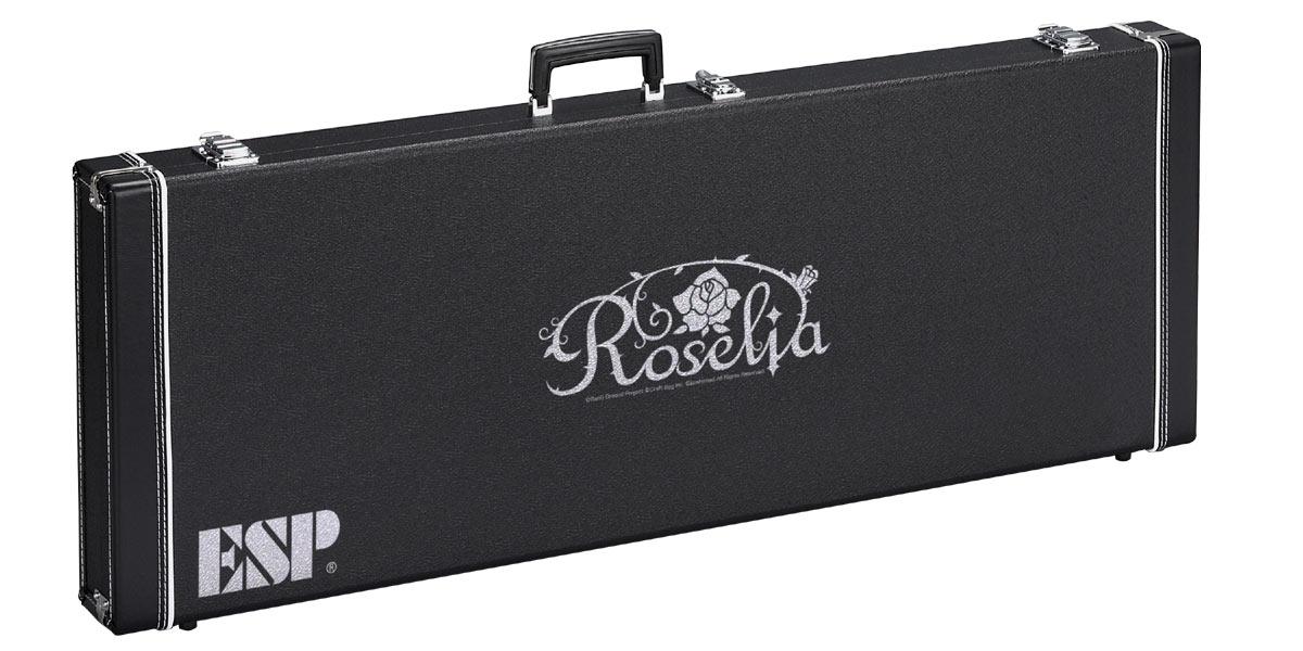 ESP×バンドリ! ガールズバンドパーティ! コラボレーション Roselia ハードケース [HC-400 ROSELIA-G]【受注生産品・御予約受付中】【送料無料】