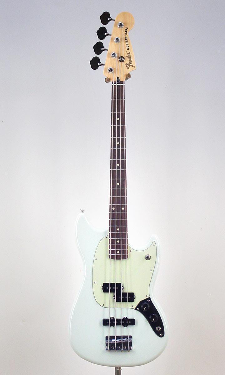 Fender Mexico Mustang Bass PJ Sonic Blue【フェンダーストラッププレゼント&レビュー特典付き!】【送料無料】