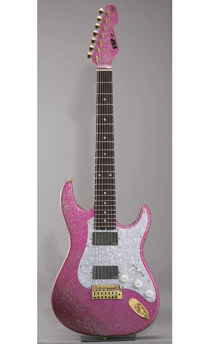 ESP SNAPPER-7 Ohmura Custom [Takayoshi Ohmura Model] (Twinkle Pink)【受注生産品・ご予約受付中!】【送料無料】
