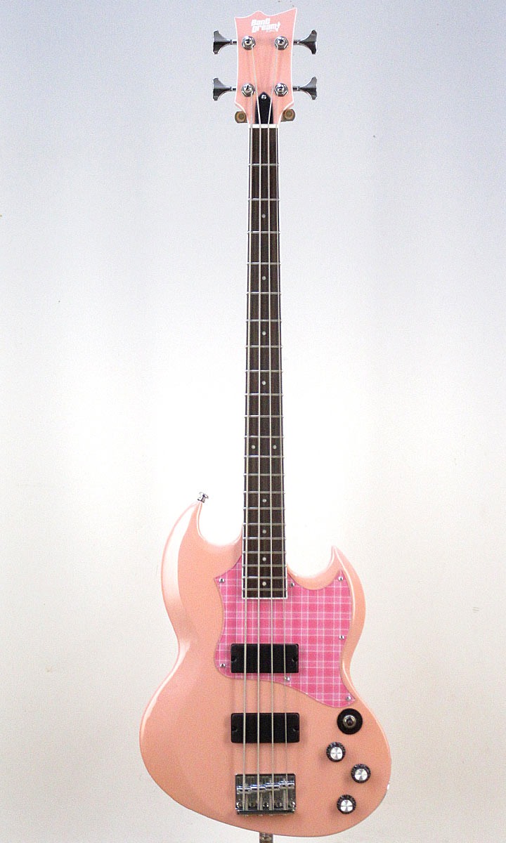 BanG Dream! ESP×バンドリ! Collaboration Series Rimi Ushigome Signature Model BanG Dream! VIPER BASS Rimi (Rimi Pink)【入荷しました!】