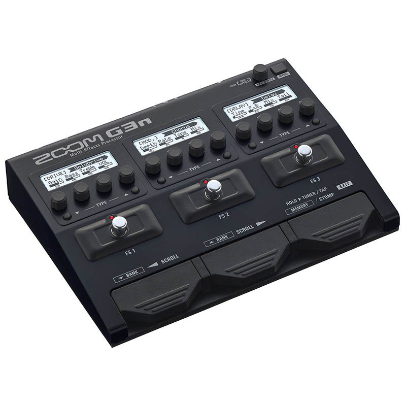 ZOOM G3n Multi-Effects Processor【送料無料】【ACアダプター付属】