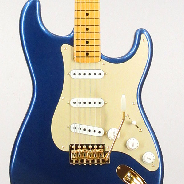 Fender Made in Japan Traditional 50s Stratocaster Anodized LPB(Fine Tuned by KOEIDO) エレキギター ストラト【フェンダーストラップ、コンパクトギタースタンド&レビュー特典付き】