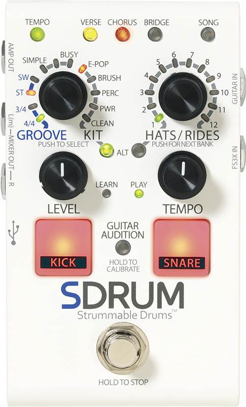 Digitech SDRUM [Strummable Drums] 【送料無料】正規輸入品