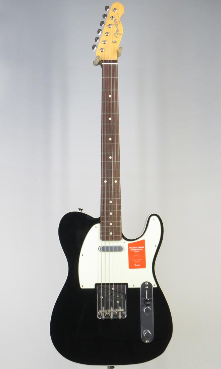 Fender Made in Japan Traditional 60s Tele Custom BLK(Fine Tuned by KOEIDO)【フェンダーストラップ&レビュー特典付き】