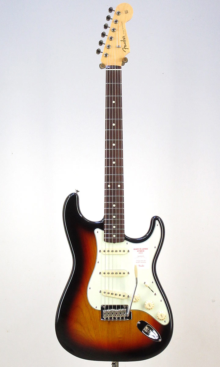 Fender Made in Japan Hybrid 60s Stratocaster 3TS/R(Fine Tuned by KOEIDO)【送料無料】【フェンダーストラップ、コンパクトギタースタンド&レビュー特典付き】