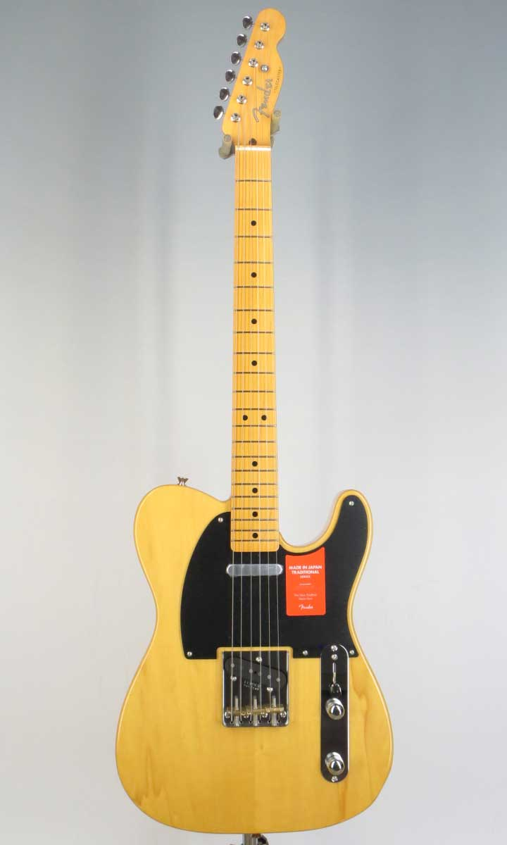 Fender Made in Japan Traditional 50s Tele VNT(Fine Tuned by KOEIDO)【フェンダーストラップ&レビュー特典付き】