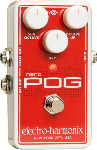 Electro-Harmonix Nano POG [Polyphonic Octave Generator]【送料無料】レターパック発送