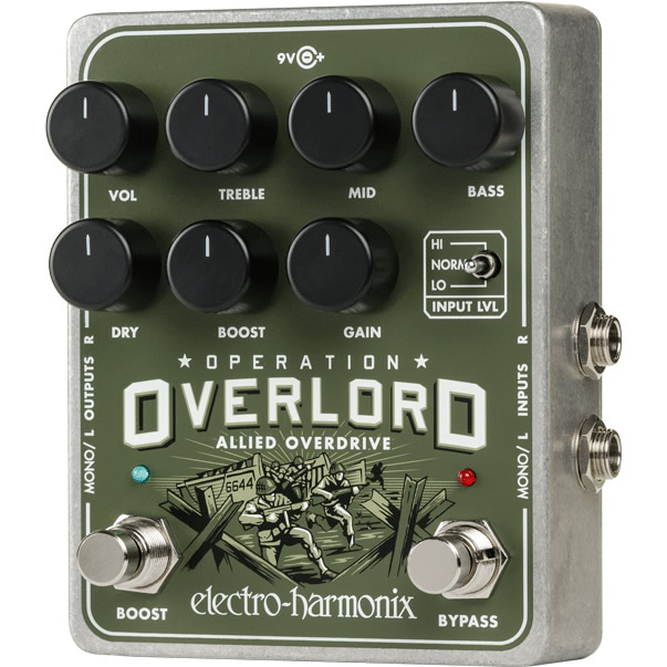 【35%OFF】 Electro-Harmonix Operation Overlord [Allied Overdrive] [Allied【送料無料 Overlord】, サクライシ:8753e871 --- canoncity.azurewebsites.net