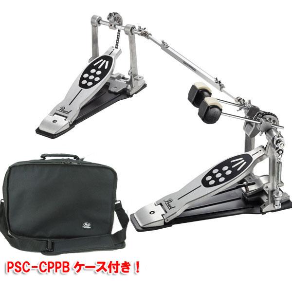 Pearl ツインペダル P-922 Powersifter Redline Style【PSC-CPPBソフトケース付き】【送料無料】