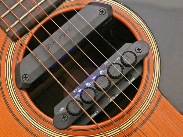 Skysonic R2 Resonance Pickup アコースティックギター用ピックアップシステム【正規品3年保証】