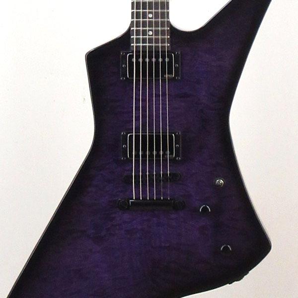 LTD SNAKEBYTE SE Baritone (See Thru Purple Sunburst)[JAMES HETFIELD Signature Model] 【入荷しました!】