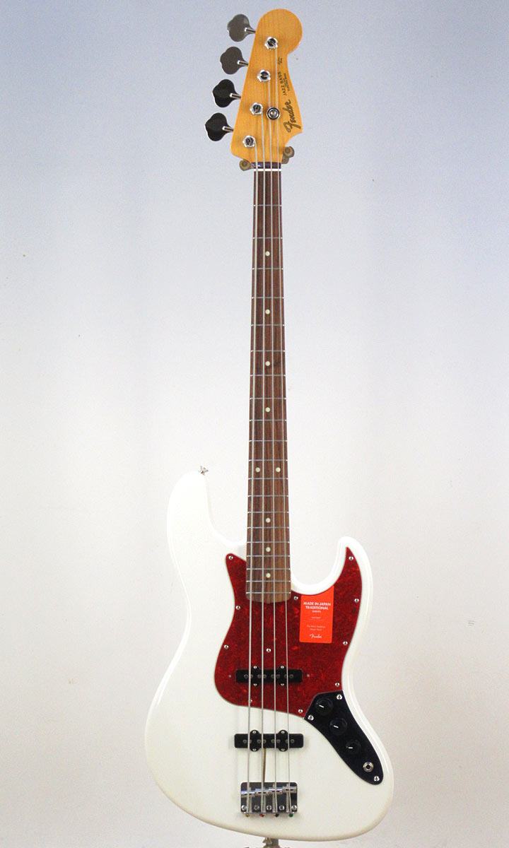 Fender Made in Japan Traditional 60s Jazz Bass AWT(Fine Tuned by KOEIDO)【フェンダーストラップ&レビュー特典付き】