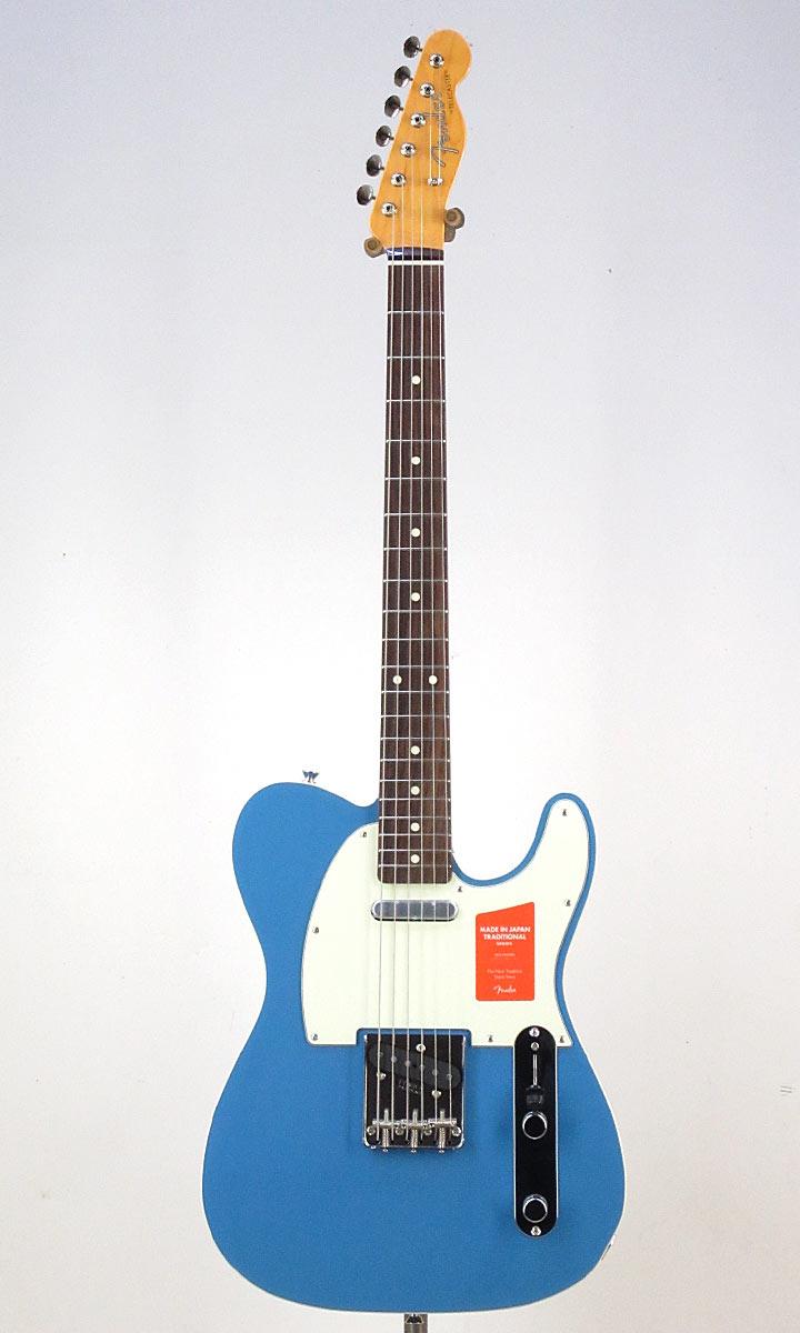 Fender Made in Japan Traditional 60s Telecaster Custom CBL(Fine Tuned by KOEIDO)【フェンダーストラップ、コンパクトギタースタンド&レビュー特典付き】
