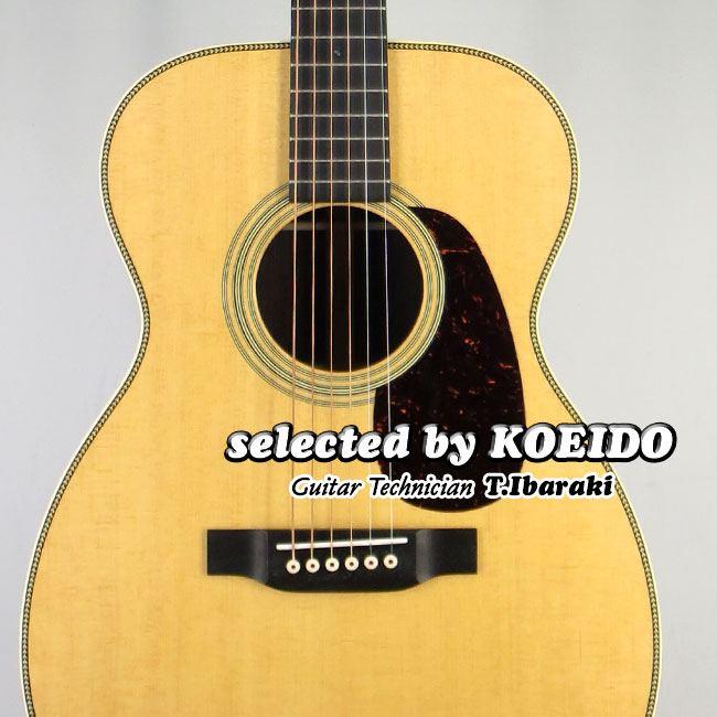 【New】C.F.Martin 00-28(selected by KOEIDO)正規輸入品店長厳選!群を抜く命を持つ0028!