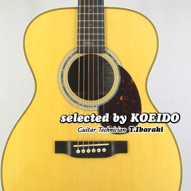【New】C.F.Martin OMJM John Mayer(selected by KOEIDO) 店長厳選、別格の命を持つジョン・メイヤーOM!