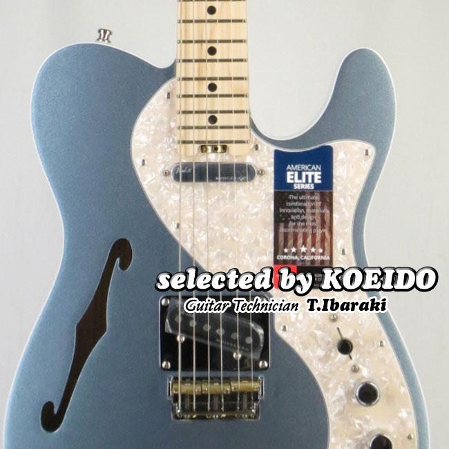 【New】Fender USA American Elite Telecaster Thinline MIB/M(selected by KOEIDO)店長厳選!命を持ち艶やかに歌う別格の一本!