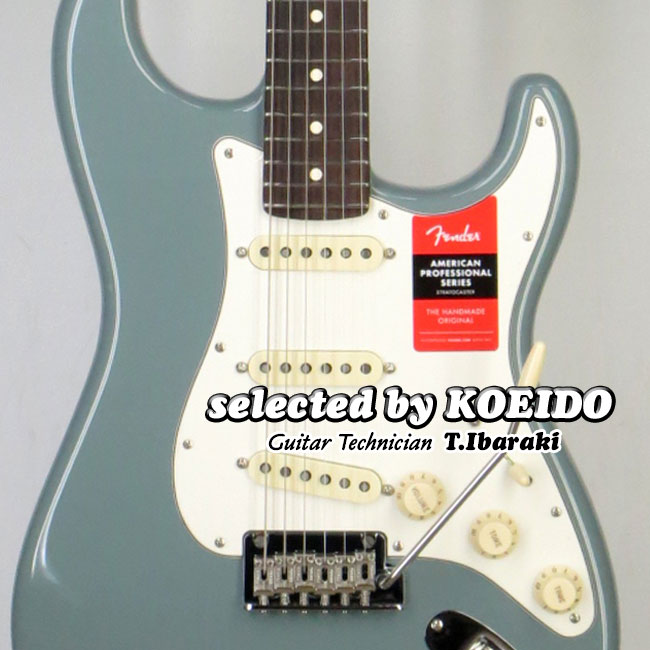 【New】Fender USA American Professional Stratocaster RW SNG(selected by KOEIDO)店長厳選!フェンダー 光栄堂